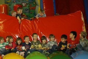 Kindergeburtstag im Regenbogenland Bad Sachsa (c) Landal GreenParks/Salztal Paradies