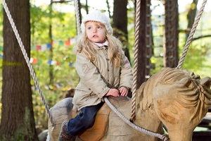 Kindergeburtstag im Arbora fabula Kletterwald in Bad Saarow