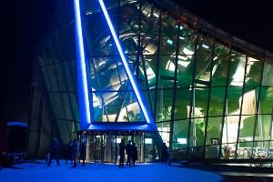 Eingangsbereich der Badewelt Sinsheim (c) Badewelt Sinsheim GmbH