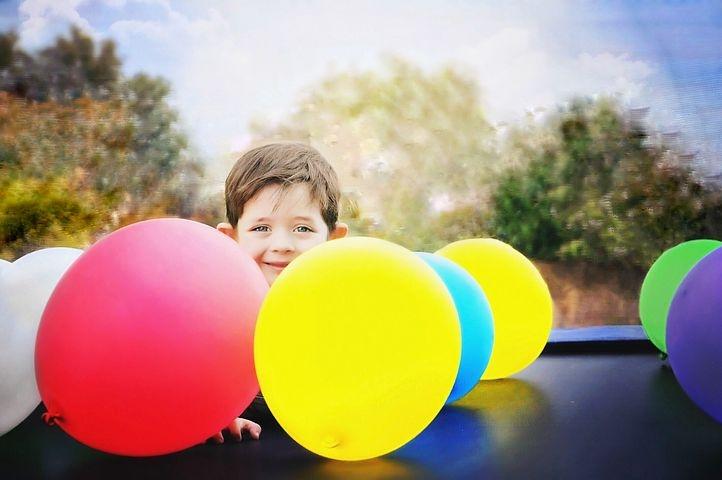 Symbolfoto Kindergeburtstag mit Sonni Sonnenschein in Besseringen