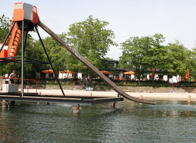 Strandbad Lübars in Berlin