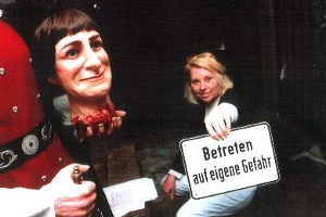 Spaziergang des Schreckens im Gruselkabinett Berlin
