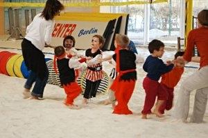 Kindergeburtstag im Indoor BeachCenter Berlin, © Beachsport Berlin KG