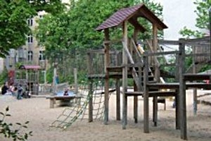 Spielplatz am Habermannplatz in Berlin