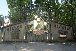 Spielplatz Zirkus Aladin in Berlin, © Antje Griehl