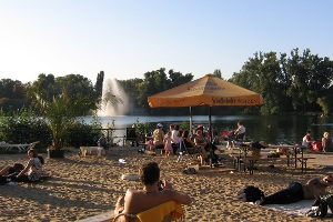 Strandbad Weissensee in Berlin