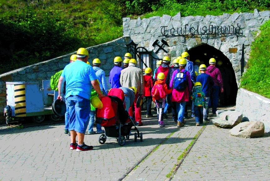 Besuchsbergwerk Teufelsgrund Münstertal