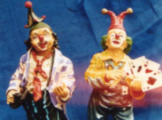 Clown-Galerie in Banteln