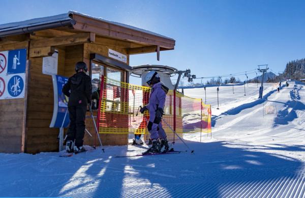 Skifahren am Roßfeld