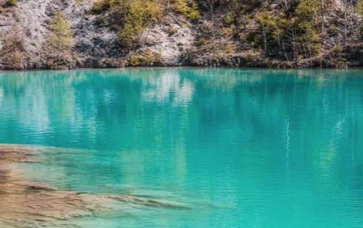 Der Blaue See bei Rübeland