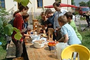Kindergeburtstag auf dem Bio-Rittergut Rittmeyer