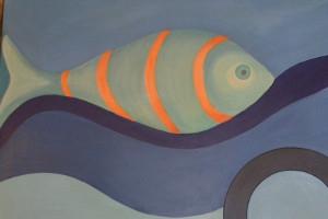 Fisch-Gemälde