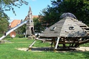 Weltraum-Spielplatz