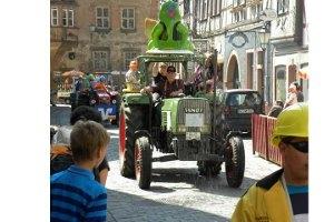 Froschparade in Büdingen