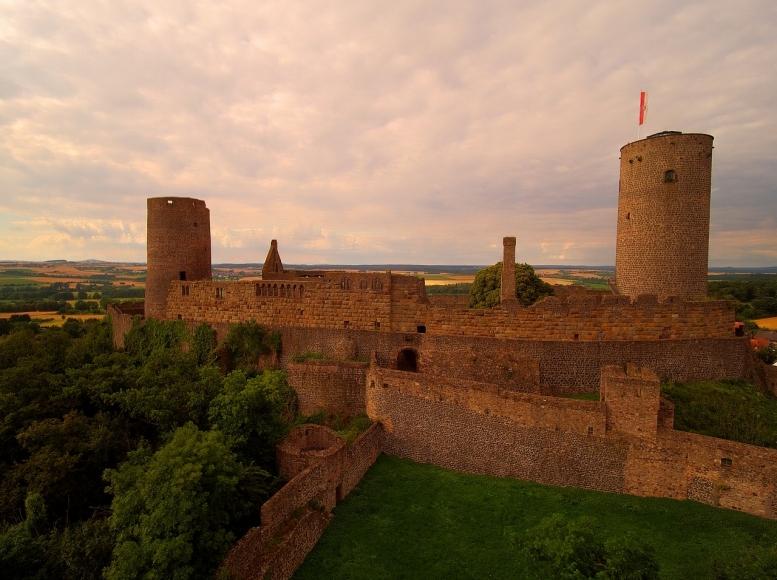Erlebnisführung auf Burg Münzenberg