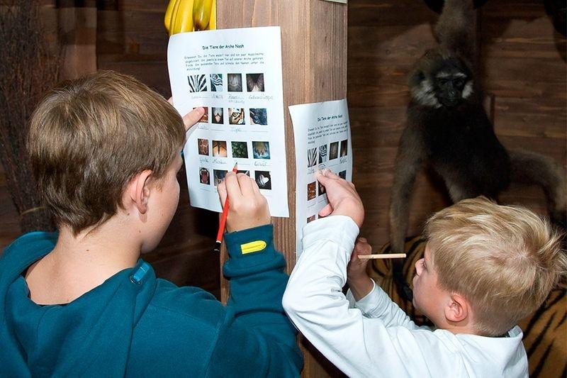 Kindergeburtstag im Naturkundemuseum Erfurt