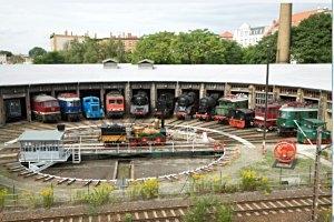 Eisenbahnnostalgie  im DB Museum Halle