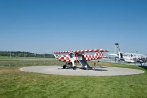 Abenteuerspielplatz für Kinder (c) Dornier-Museum Friedrichshafen