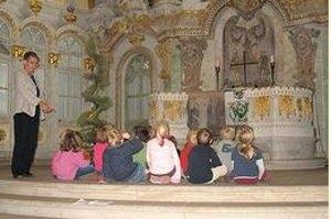 Kinderkirchenführung in der Frauenkirche in Dresden (c) Frauenkirche Dresden