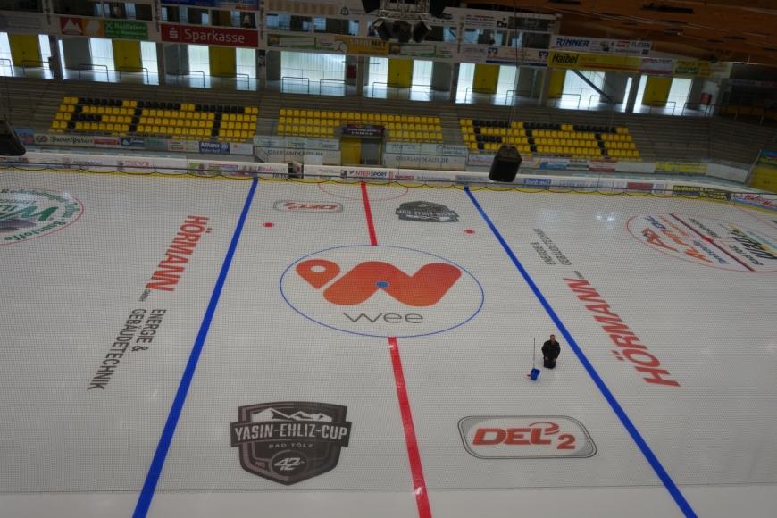 weeArena, das Eisstadion in Bad Tölz