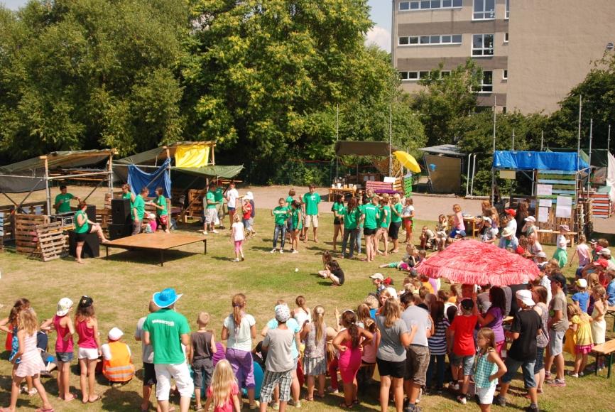 Marktplatz der Kinderstadt