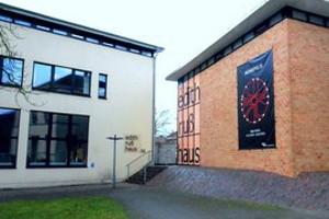 Fassade Edith-Ruß-Haus für Medienkunst