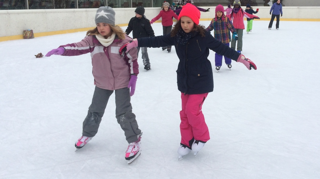 Symbolfoto Eislaufen im Sport-Paradies