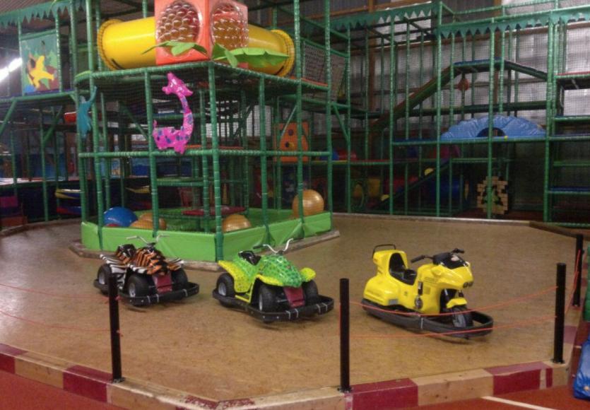 Indoorspielhalle flipp-flopp