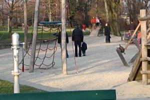 Spielplatz am Mainufer in Frankfurt