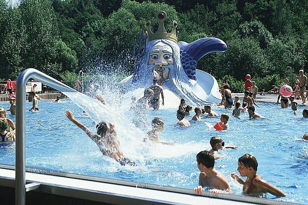 Das Sport- und Freizeitbad Hammergrund