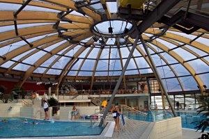 Schwimmen im Johannisbad in Freiberg