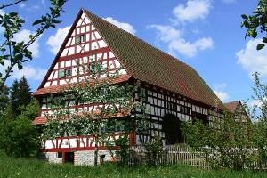 Fachwerkhaus im Freilichtmuseum Neuhausen