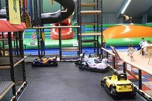 Indoorspielplatz kunti-bunt in Greifswald