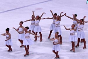 Kindergeburtstag in der Eissporthalle Grimma