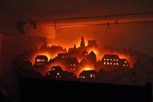 Bild-Ton-Schau des Stadtbrandes von 1907 (c) Fastnacht & Statt-Museum Herbstein