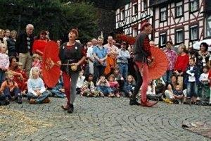 Schinderhannes-Räuberfest im mittelalterlichen Herrstein