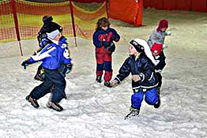 Kindergeburtstag im Snowtropolis in Hörlitz, © snow+active GmbH