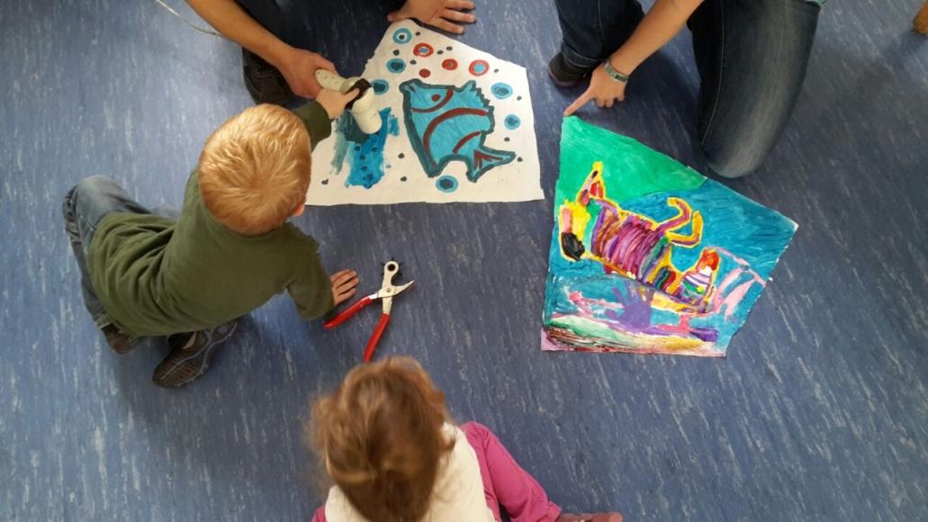 Kindergeburtstag mit Drachenbastlen