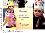 Kaiserpfalz Kindergeburtstag Goslar