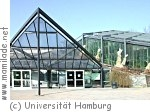 Schaugewächshäuser des  Botanischen Gartens in Hamburg