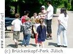 Kindergeburtstag im Brückenkopf-Park Jülich