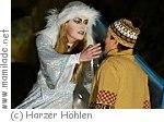 """""""Die Schneekönigin""""  in der  Baumannshöhle Rübeland"""