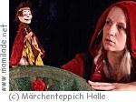 """""""Dornröschen"""" im Figurentheater Märchenteppich in Halle"""