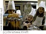 """Kindergeburtstag bei """"Die kleinen Kochmützen"""" in Hamburg"""