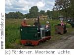 Fahrt mit der Moorbahn Uchte