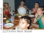 Büsum Erlebnisbad Piraten Meer Kindergeburtstag