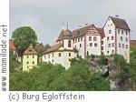 Egloffstein Burg in der Fränkischen Schweiz