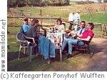 Kaffeegarten auf dem Ponyhof Wulften