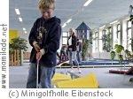 Kindergeburtstag in der Minigolfhalle Eibenstock