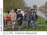 Kindergeburtstag am Schiffshebewerk Henrichenburg